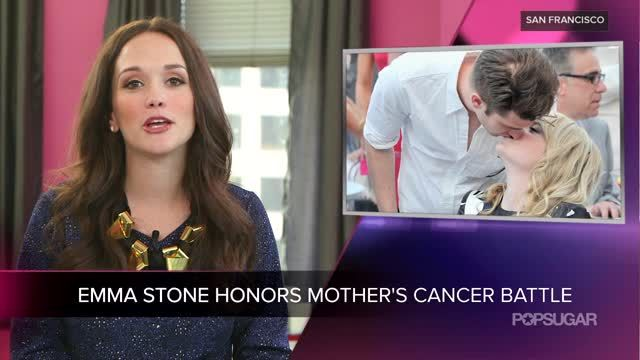 News video: Video: Andrew Supports Emma at Cancer Event Honoring Her Mother