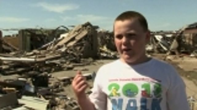 News video: Oklahoma tornado: school survivor's tale