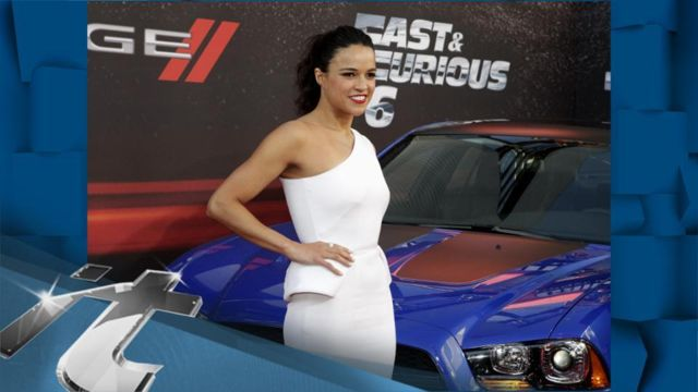 News video: Movie News Pop: Michelle Rodriguez Gets HIGH With Fans At Fast & Furious 6 Premiere!!
