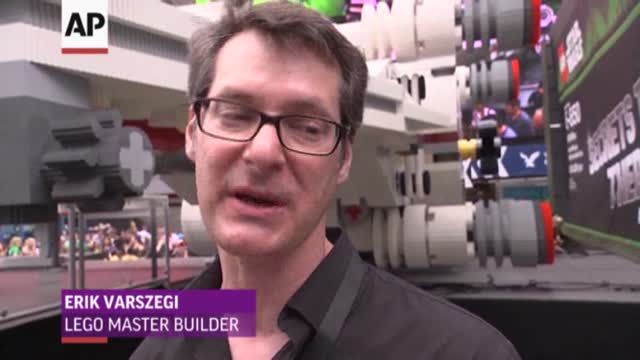 News video: World's Largest LEGO Model Revealed
