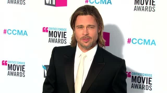 News video: Brad Pitt Sneak Previews 'World War Z' for New Jersey Fans